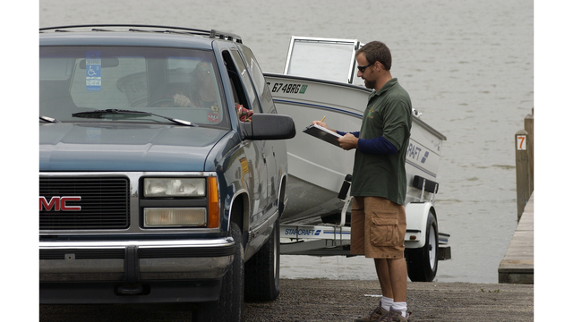 DNR creel clerks to collect angler information