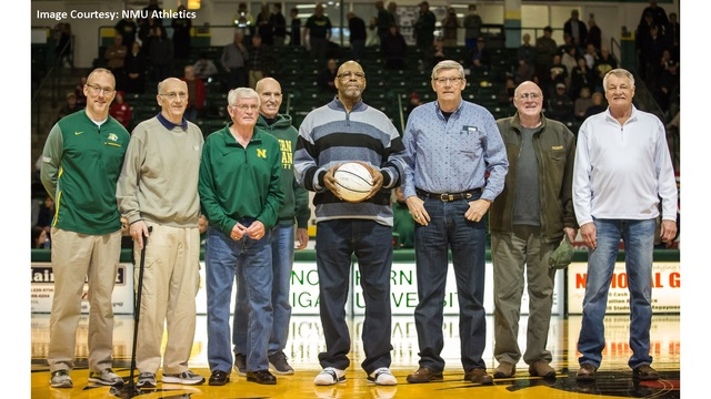 NMU Legend Gene Summers honored during Saturday's game