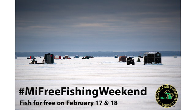 Cast A Line! It's Michigan Winter Free Fishing Weekend