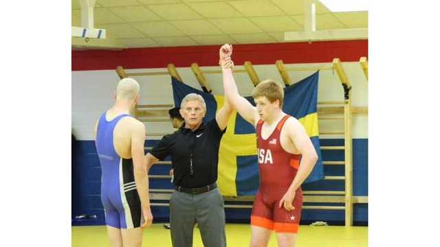Team USA defeats Team Sweden in dual meet