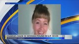 Man charged in death of woman found in U.P. river