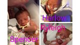 Fundraiser for premature triplets is Saturday