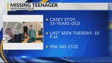15-year-old boy missing since Tuesday