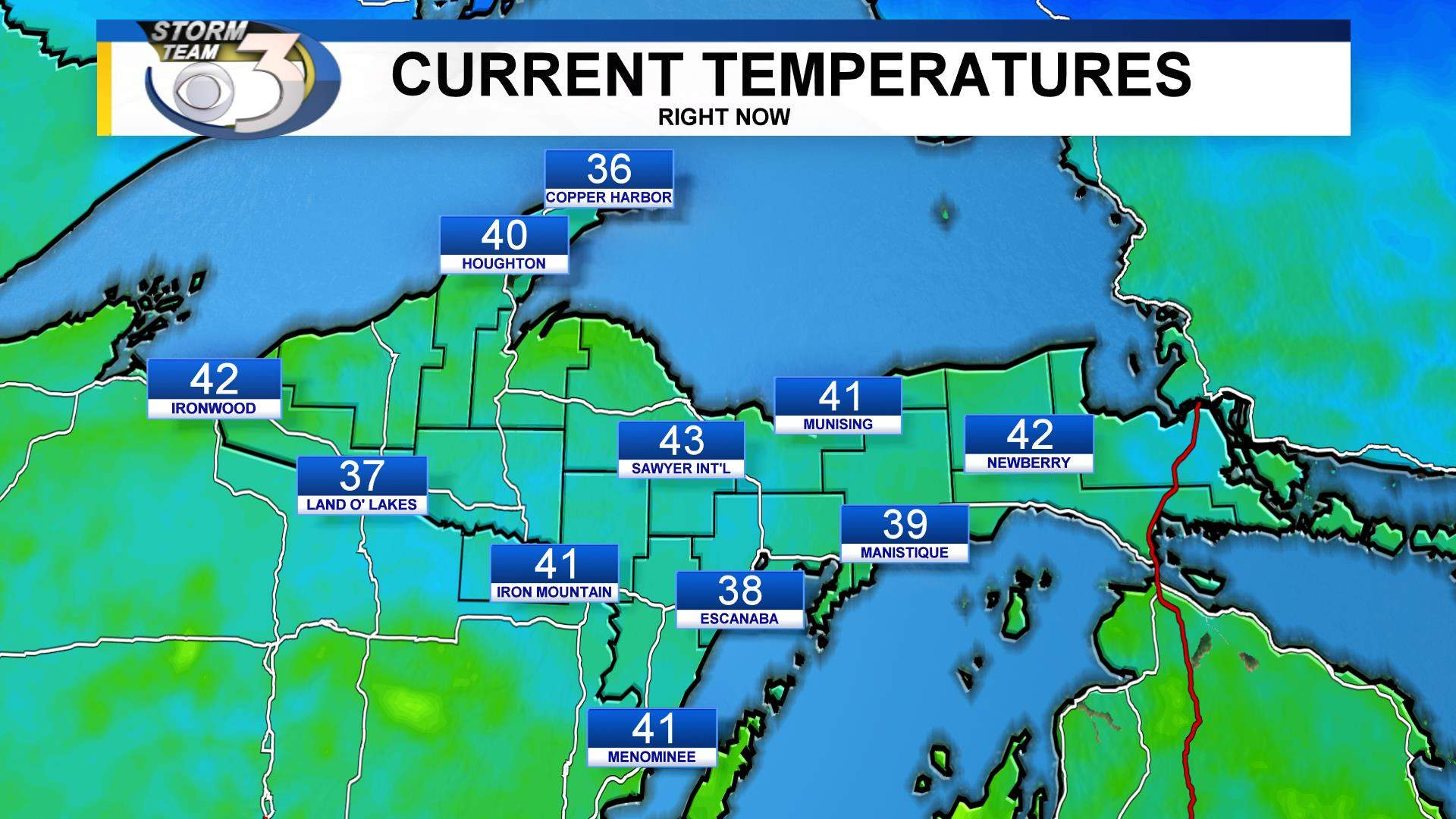 Current Temperatures