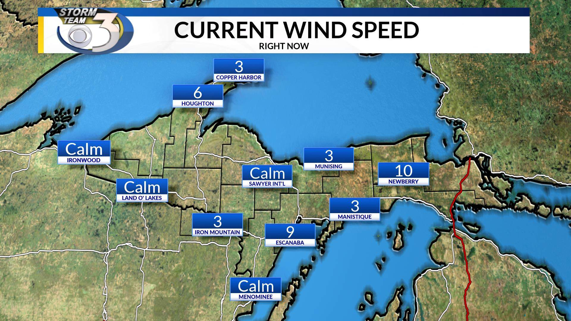 Current Wind Speed